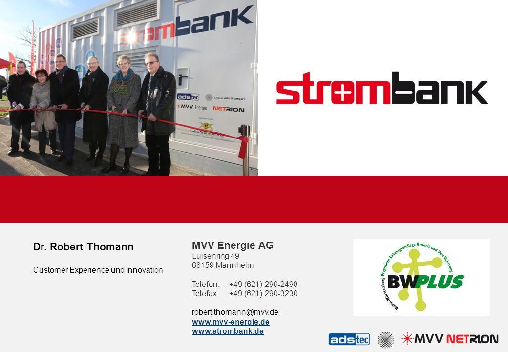 Dr. Robert Thomann Customer Experience und Innovation.