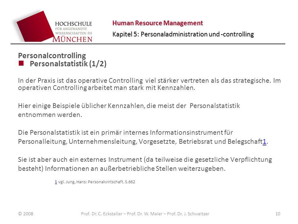 Prof. Dr. C. Eckstaller – Prof. Dr. W. Maier – Prof. Dr. J. Schweitzer