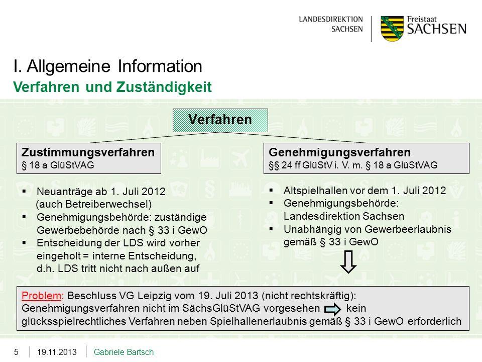 I. Allgemeine Information