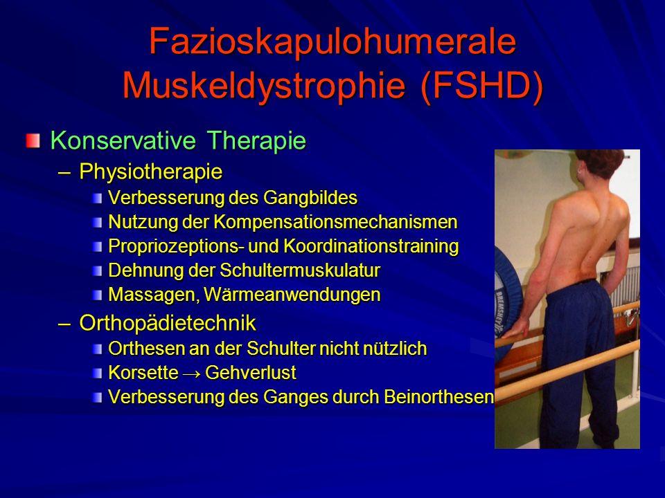 Fazioskapulohumerale Muskeldystrophie (FSHD)