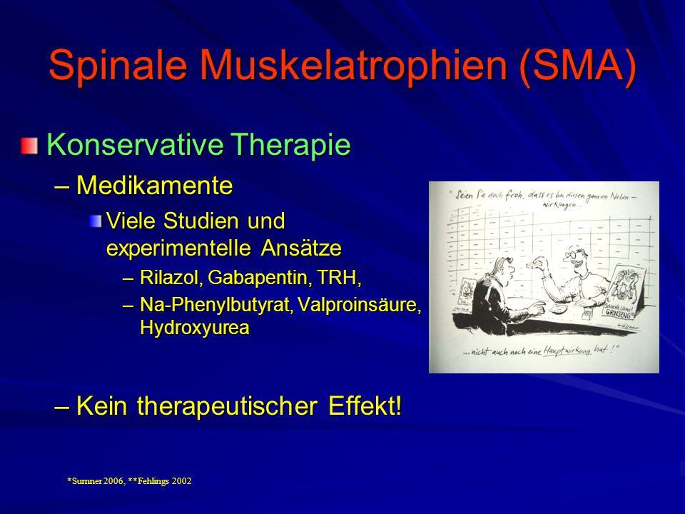 Spinale Muskelatrophien (SMA)