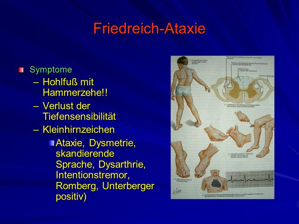 Friedreich-Ataxie Hohlfuß mit Hammerzehe!!