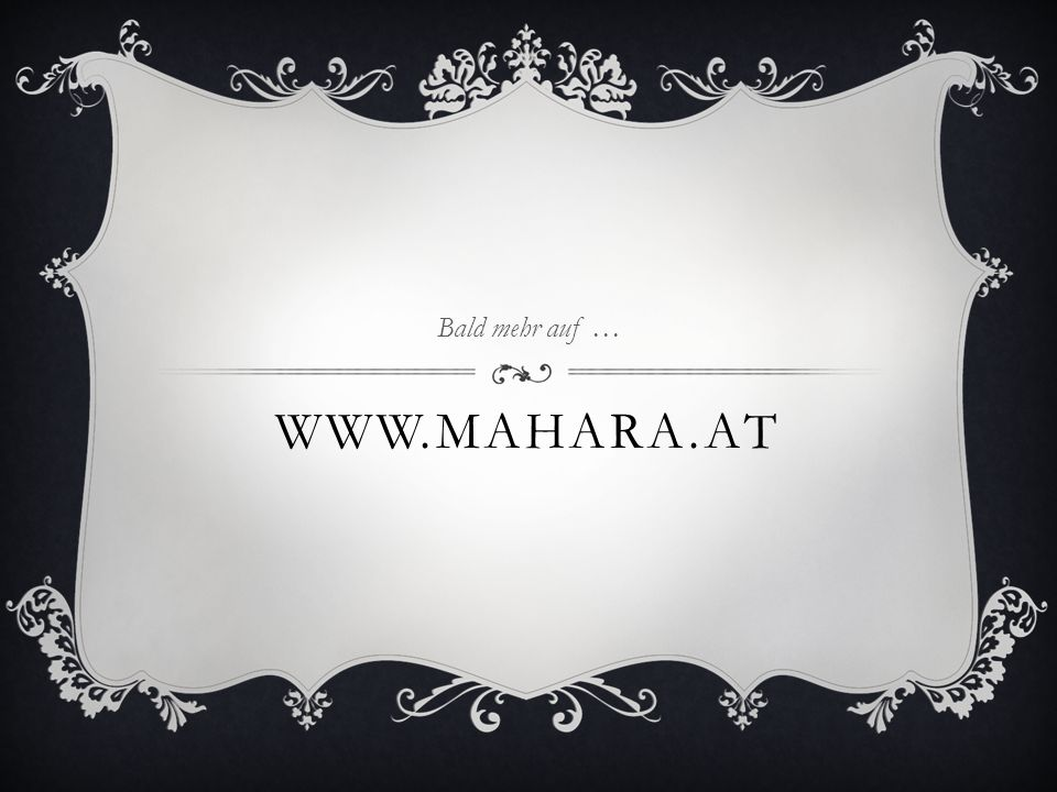 Bald mehr auf … www.mahara.at