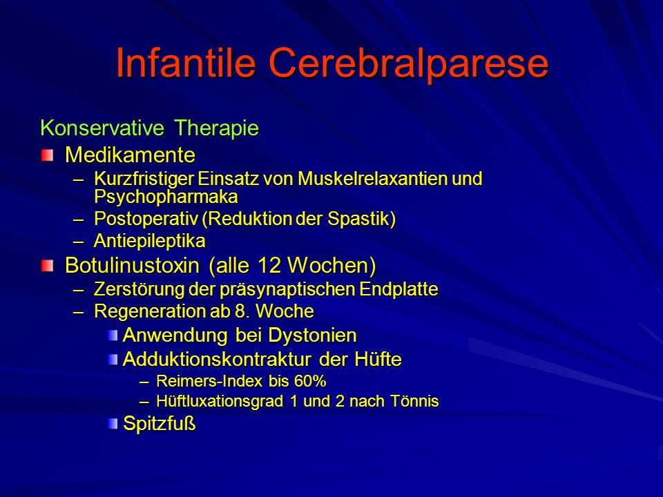 Infantile Cerebralparese