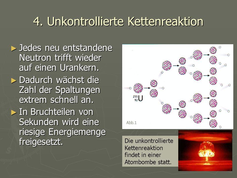 4. Unkontrollierte Kettenreaktion