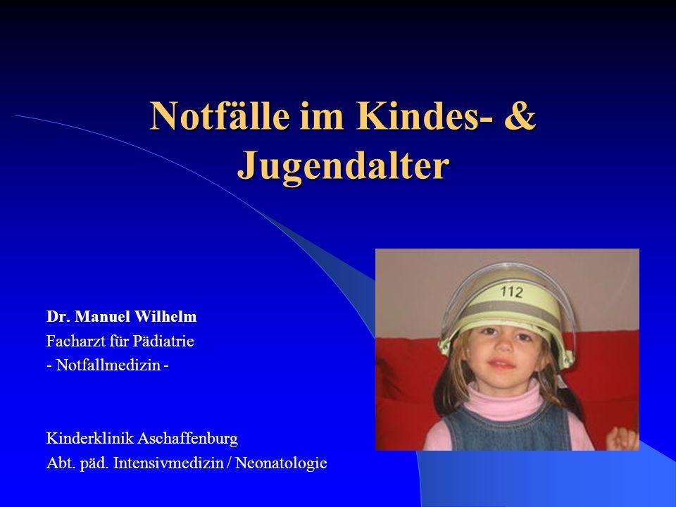 Notfälle im Kindes- & Jugendalter