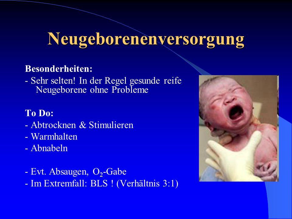 Neugeborenenversorgung