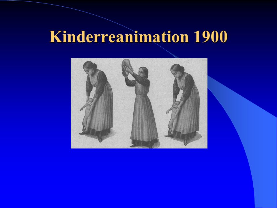 Kinderreanimation 1900