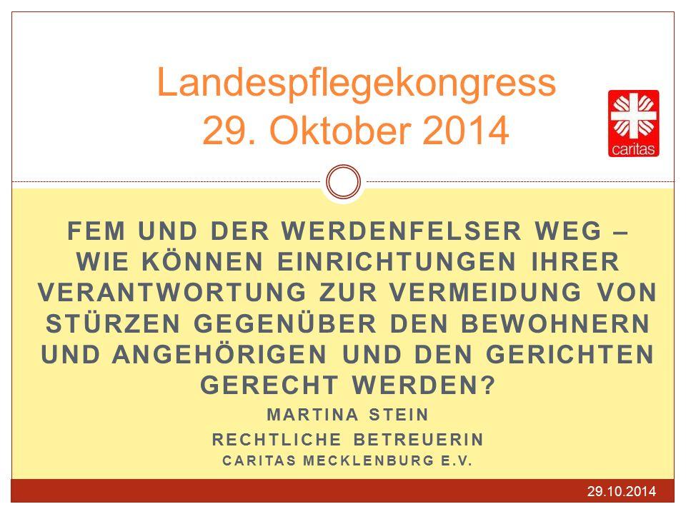 Landespflegekongress 29. Oktober 2014