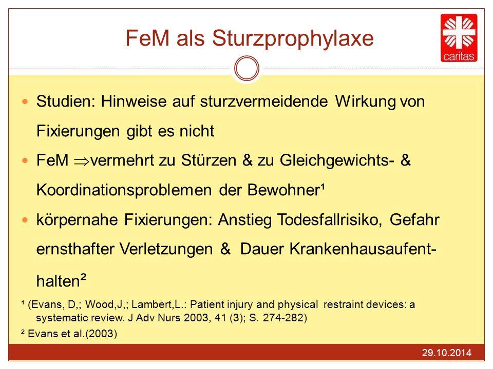 FeM als Sturzprophylaxe