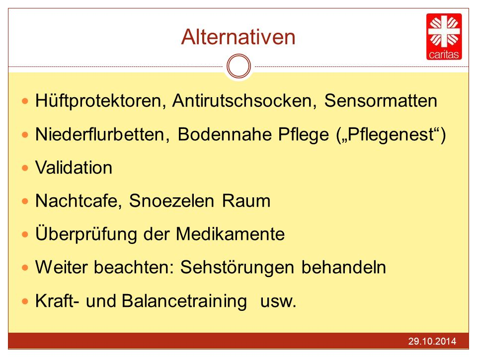 Alternativen Hüftprotektoren, Antirutschsocken, Sensormatten