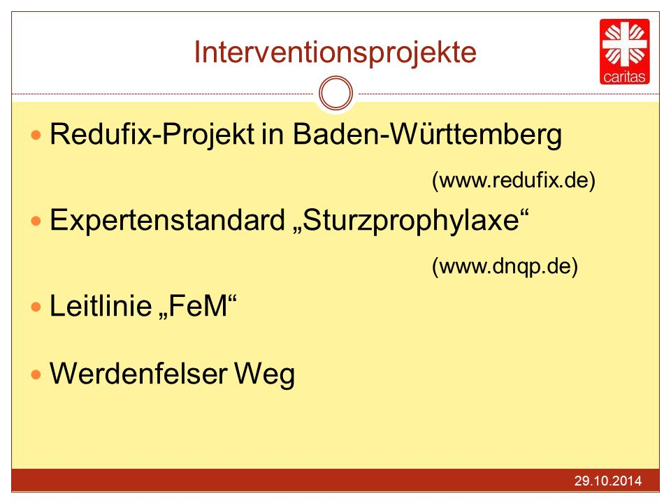 Interventionsprojekte