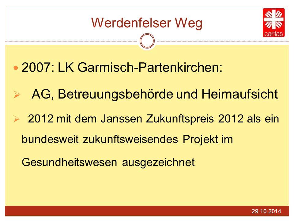 Werdenfelser Weg 2007: LK Garmisch-Partenkirchen: