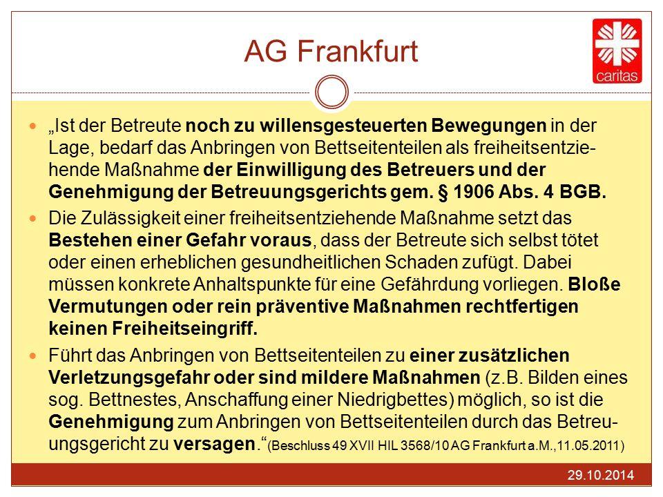 AG Frankfurt