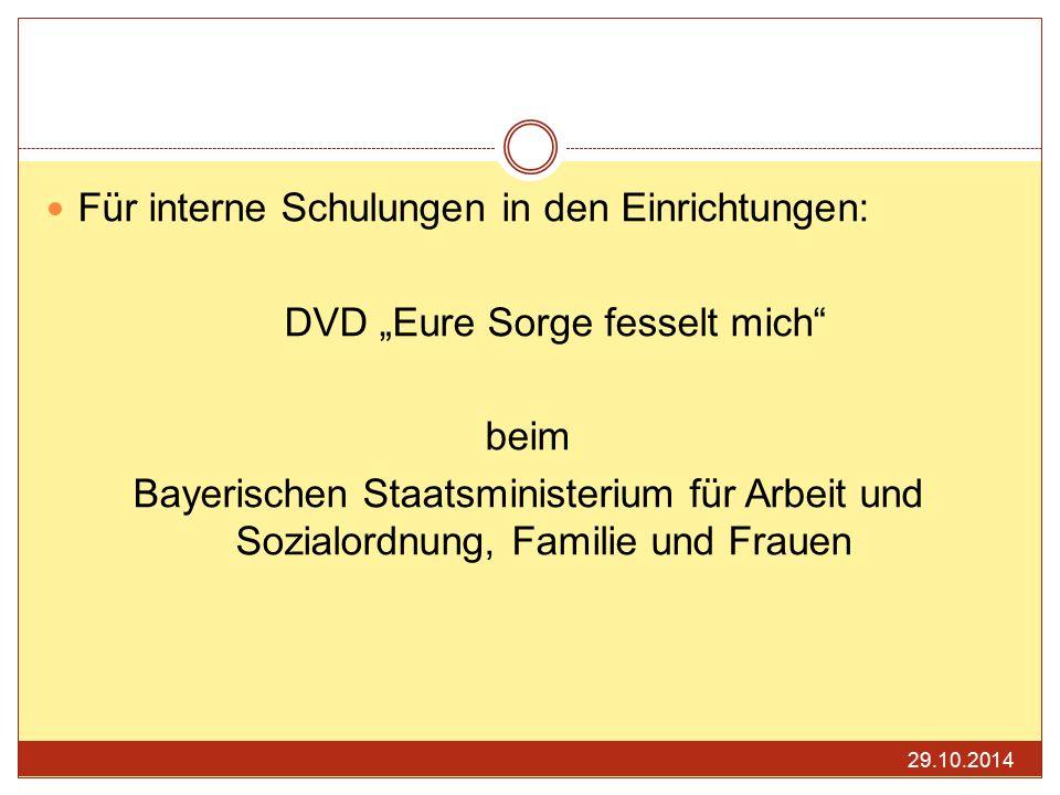 "DVD ""Eure Sorge fesselt mich"