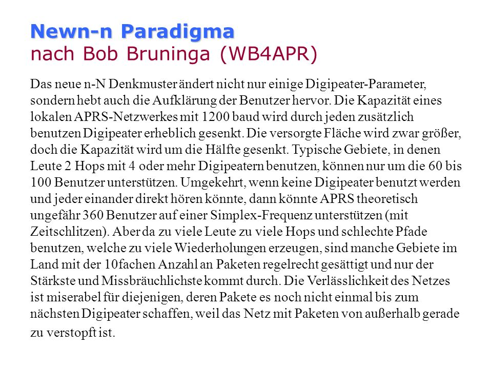 nach Bob Bruninga (WB4APR)