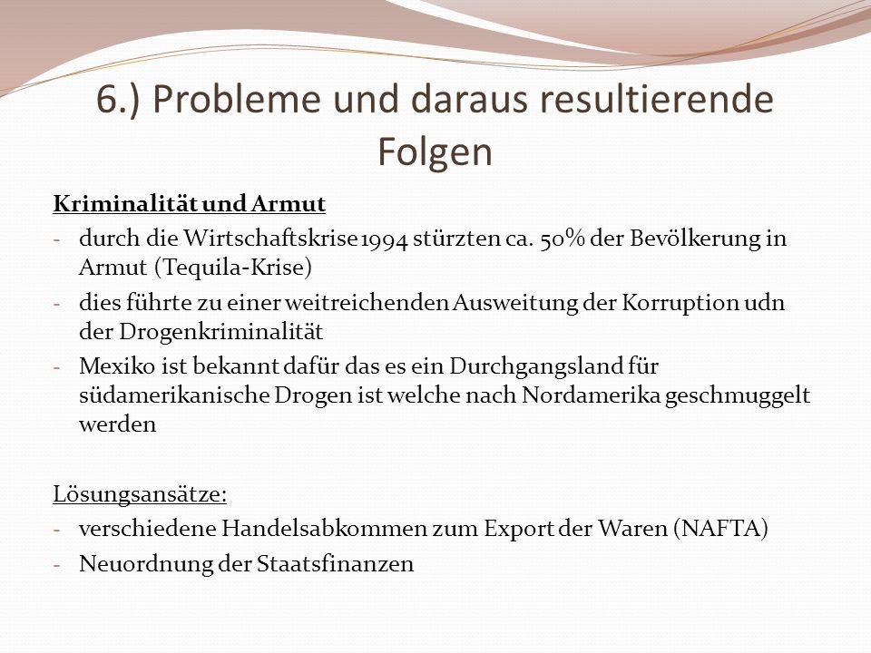 6.) Probleme und daraus resultierende Folgen