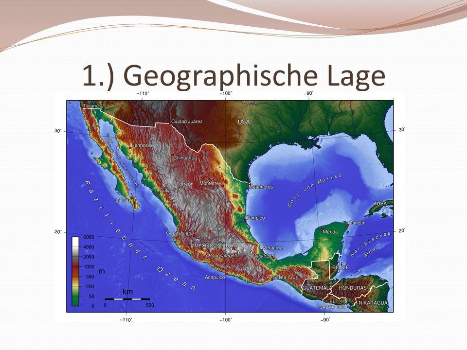 1.) Geographische Lage