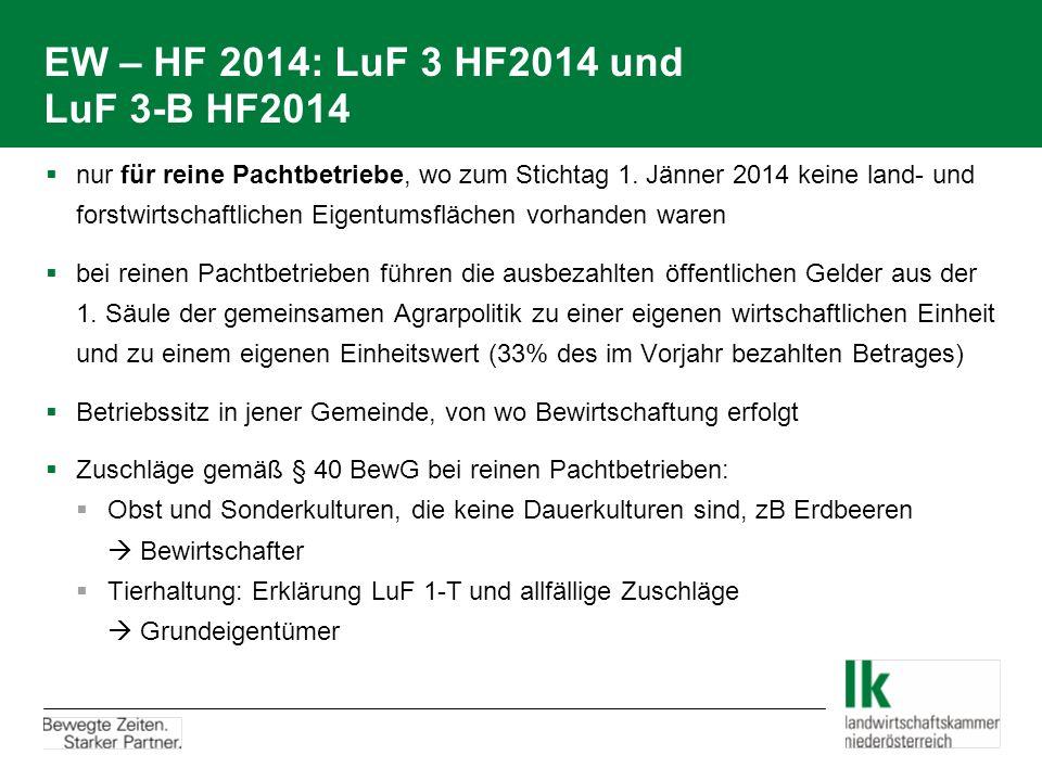 EW – HF 2014: LuF 3 HF2014 und LuF 3-B HF2014