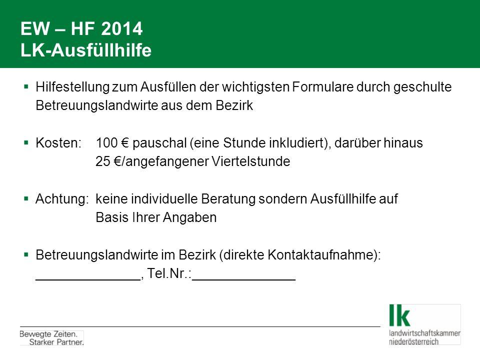 EW – HF 2014 LK-Ausfüllhilfe