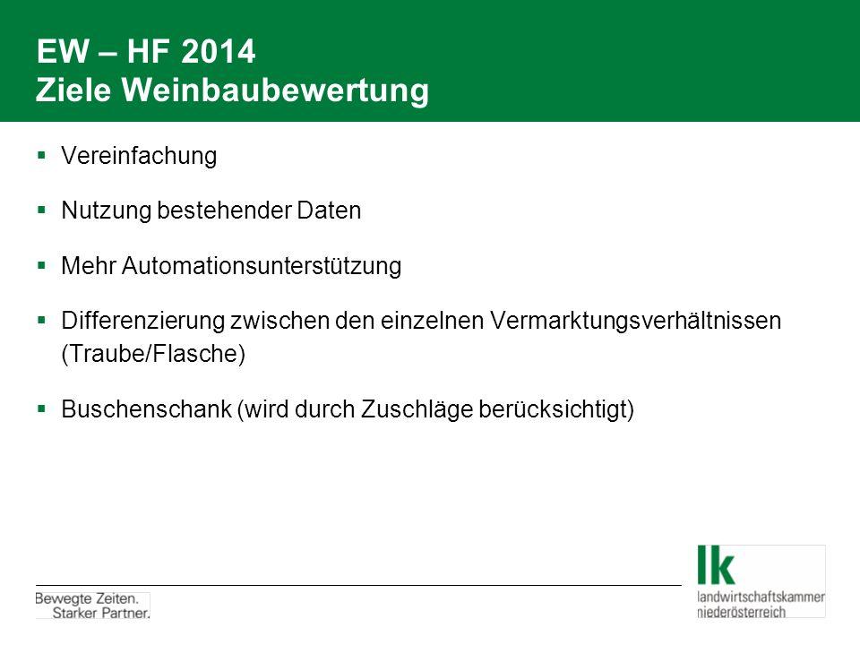 EW – HF 2014 Ziele Weinbaubewertung