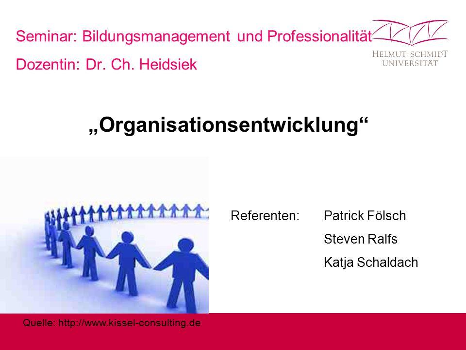 """""""Organisationsentwicklung"""