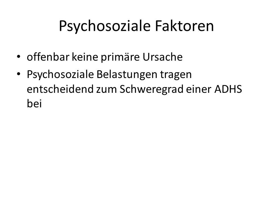 Psychosoziale Faktoren