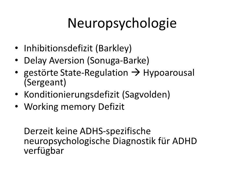 Neuropsychologie Inhibitionsdefizit (Barkley)