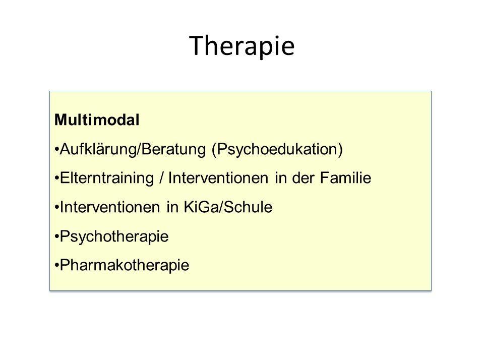 Therapie Multimodal Aufklärung/Beratung (Psychoedukation)