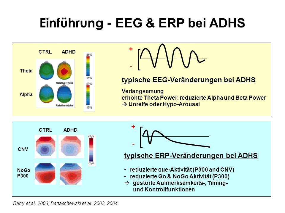 Einführung - EEG & ERP bei ADHS