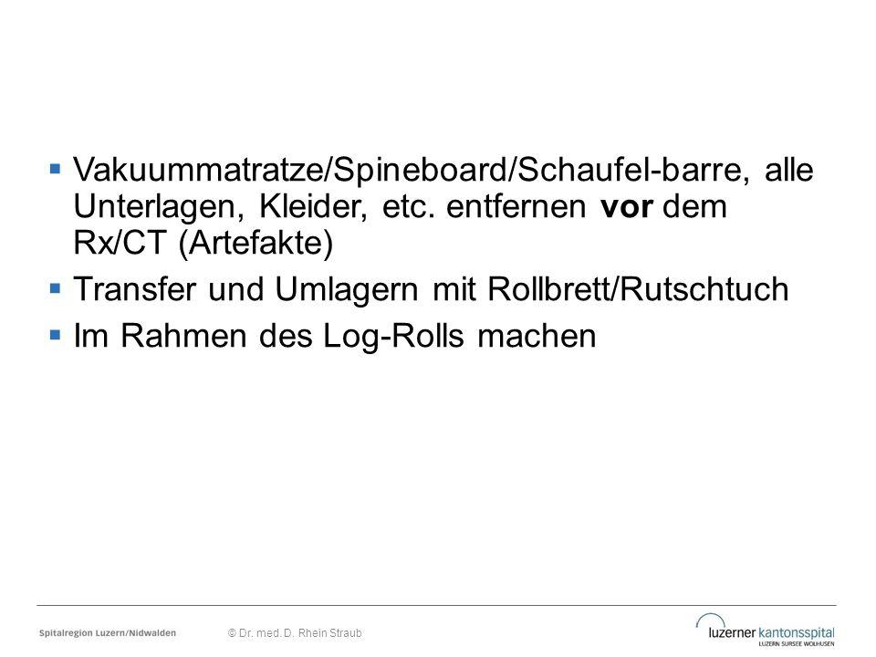Transfer und Umlagern mit Rollbrett/Rutschtuch