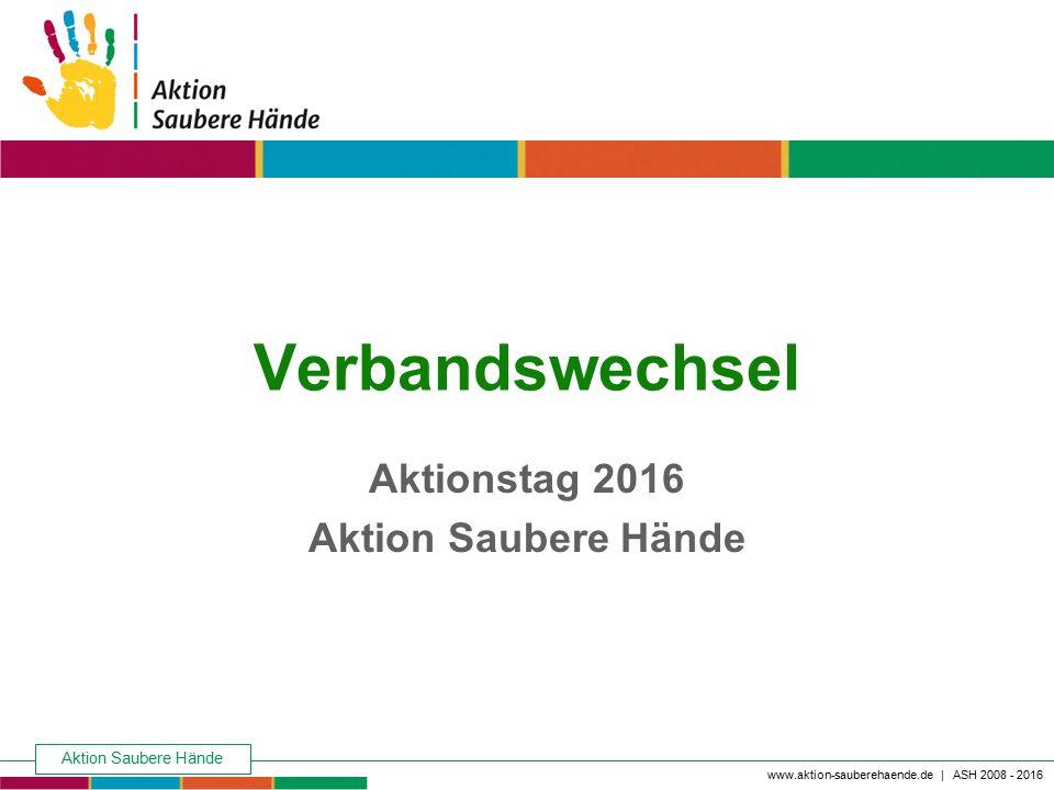 Aktionstag 2016 Aktion Saubere Hände