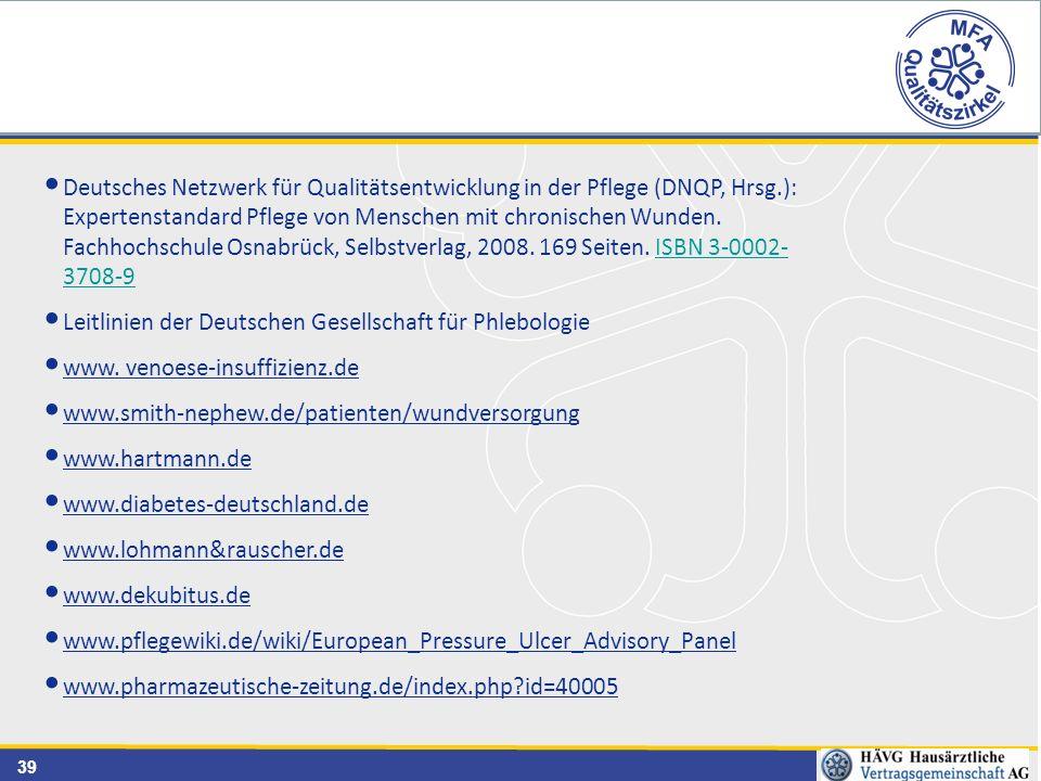 Deutsches Netzwerk für Qualitätsentwicklung in der Pflege (DNQP, Hrsg