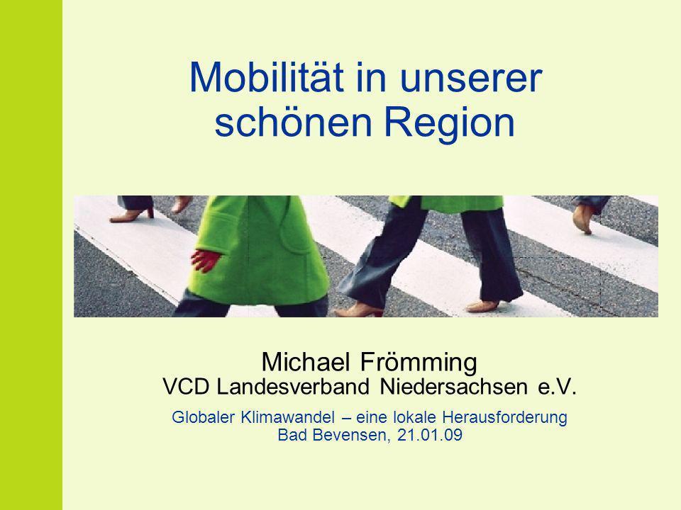 Mobilität in unserer schönen Region