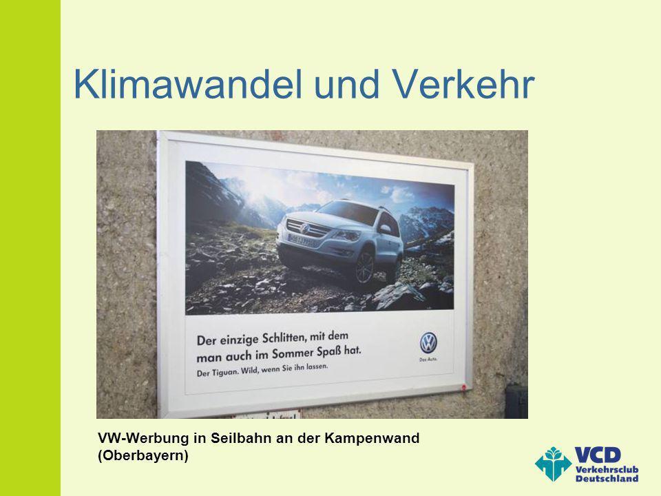 Klimawandel und Verkehr