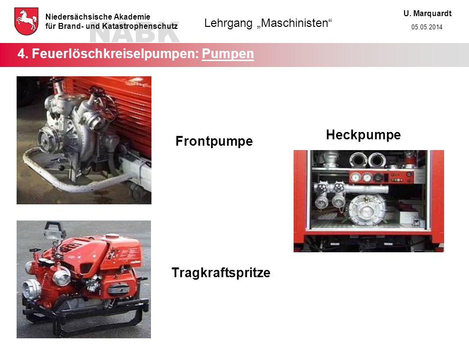 4. Feuerlöschkreiselpumpen: Pumpen