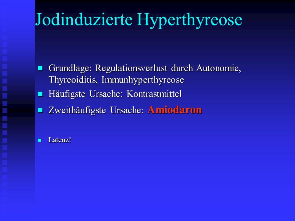 Jodinduzierte Hyperthyreose