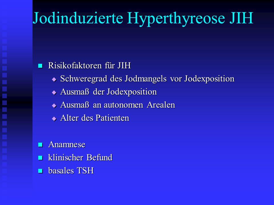 Jodinduzierte Hyperthyreose JIH