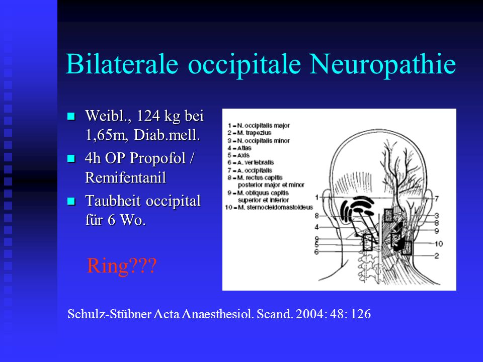 Bilaterale occipitale Neuropathie