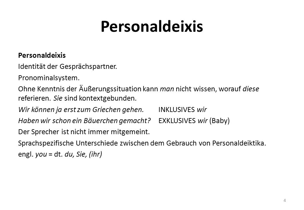 Personaldeixis