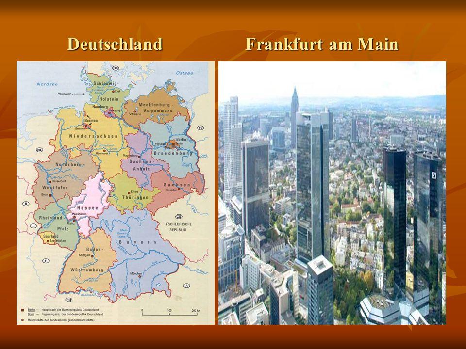 Deutschland Frankfurt am Main