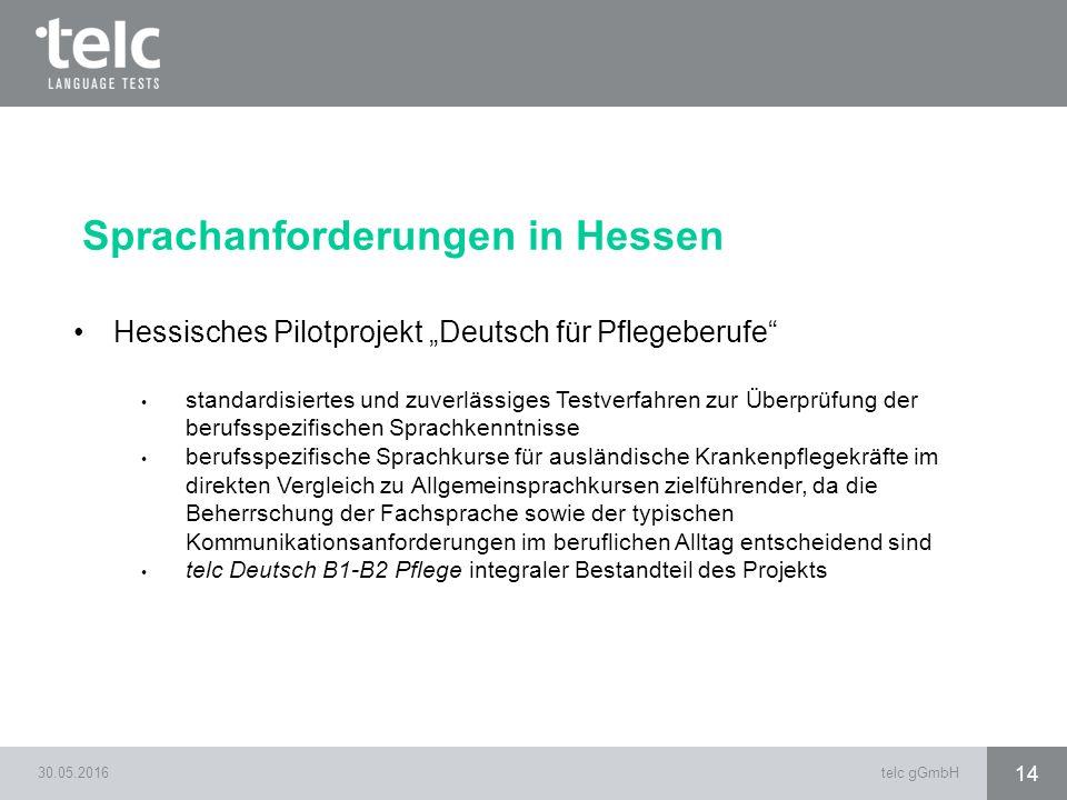 Sprachanforderungen in Hessen