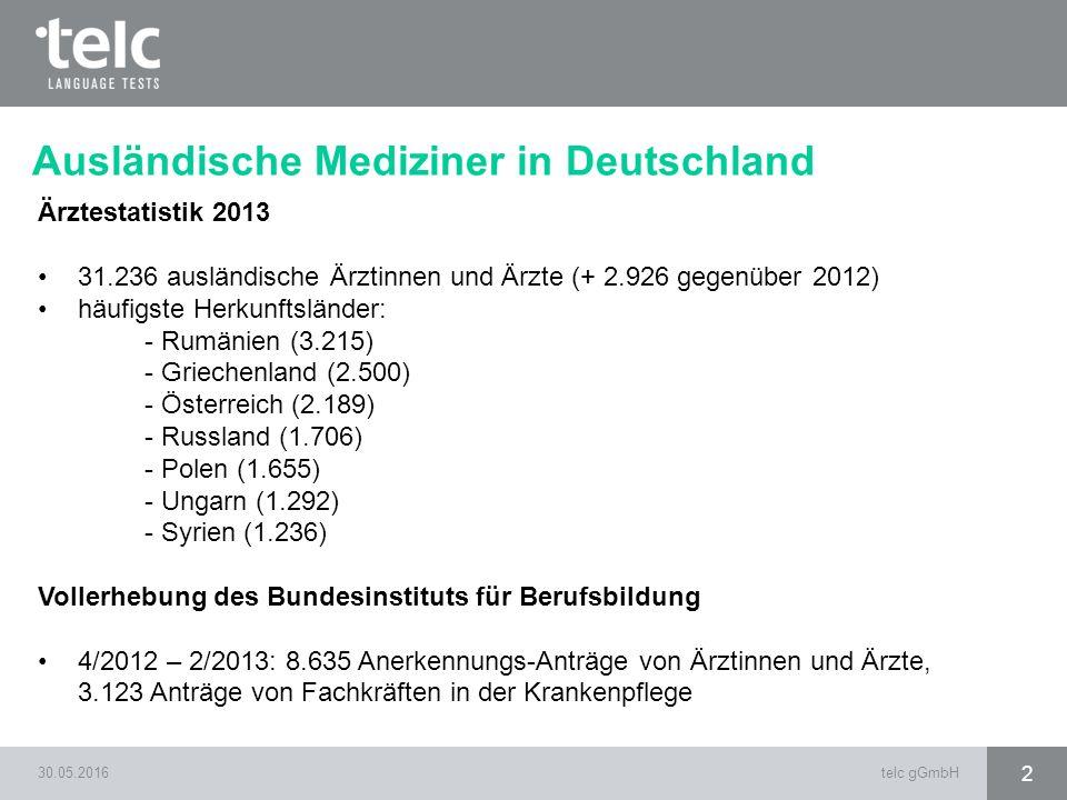 Ausländische Mediziner in Deutschland