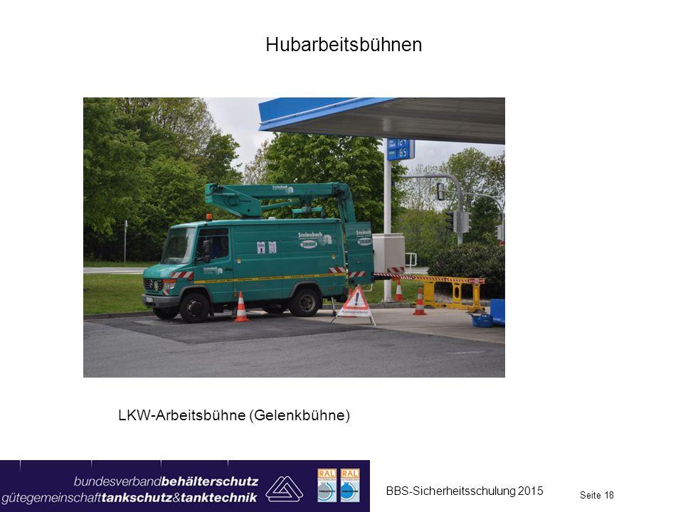 Hubarbeitsbühnen LKW-Arbeitsbühne (Gelenkbühne)