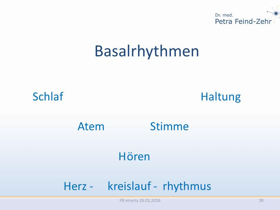 Basalrhythmen Schlaf Haltung Herz - kreislauf - rhythmus