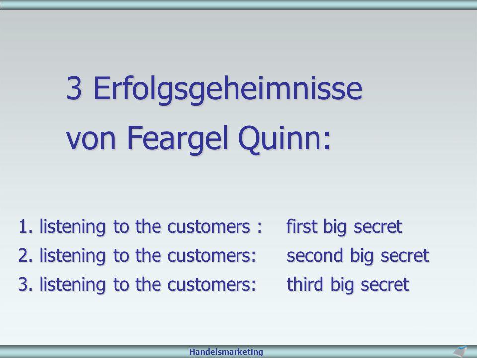 3 Erfolgsgeheimnisse von Feargel Quinn: