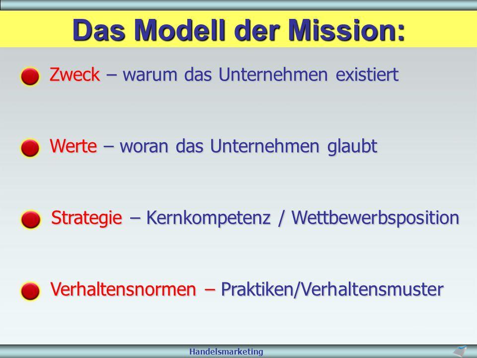 Das Modell der Mission:
