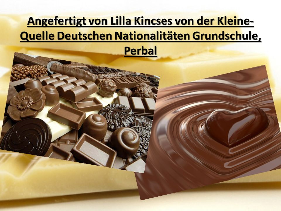 Angefertigt von Lilla Kincses von der Kleine-Quelle Deutschen Nationalitäten Grundschule, Perbal
