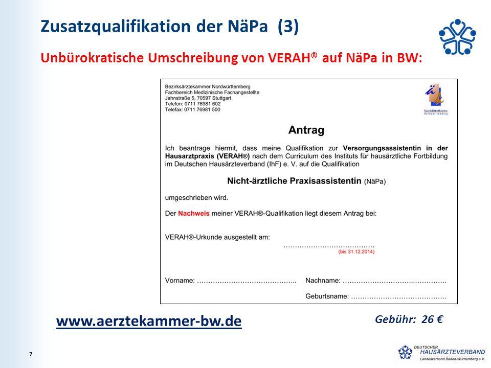 Zusatzqualifikation der NäPa (3)