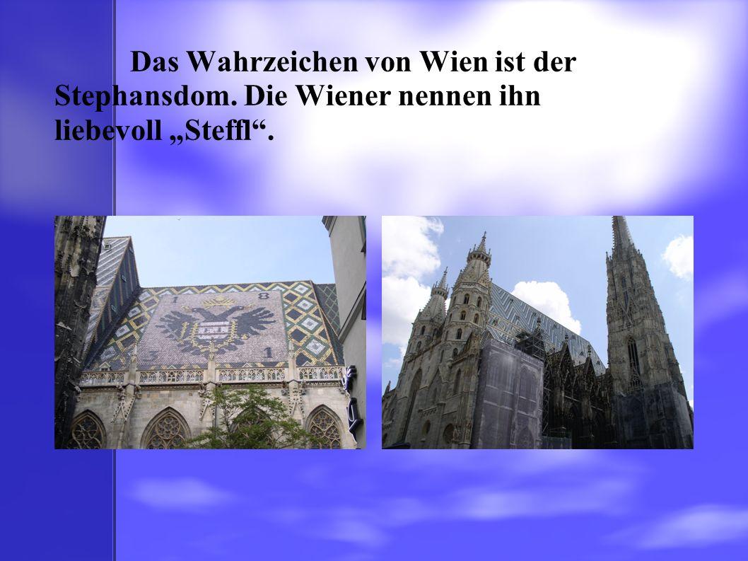 Das Wahrzeichen von Wien ist der Stephansdom
